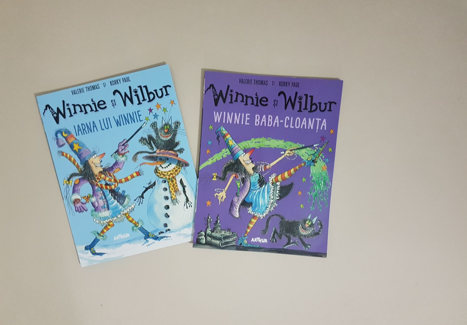 Winnie și Wilbur. 2 cărți minunate pentru copii