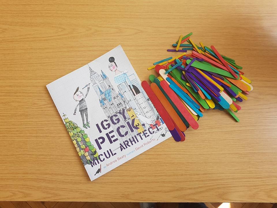 Iggy Peck, micul arhitect – o lecție despre pasiune și determinare