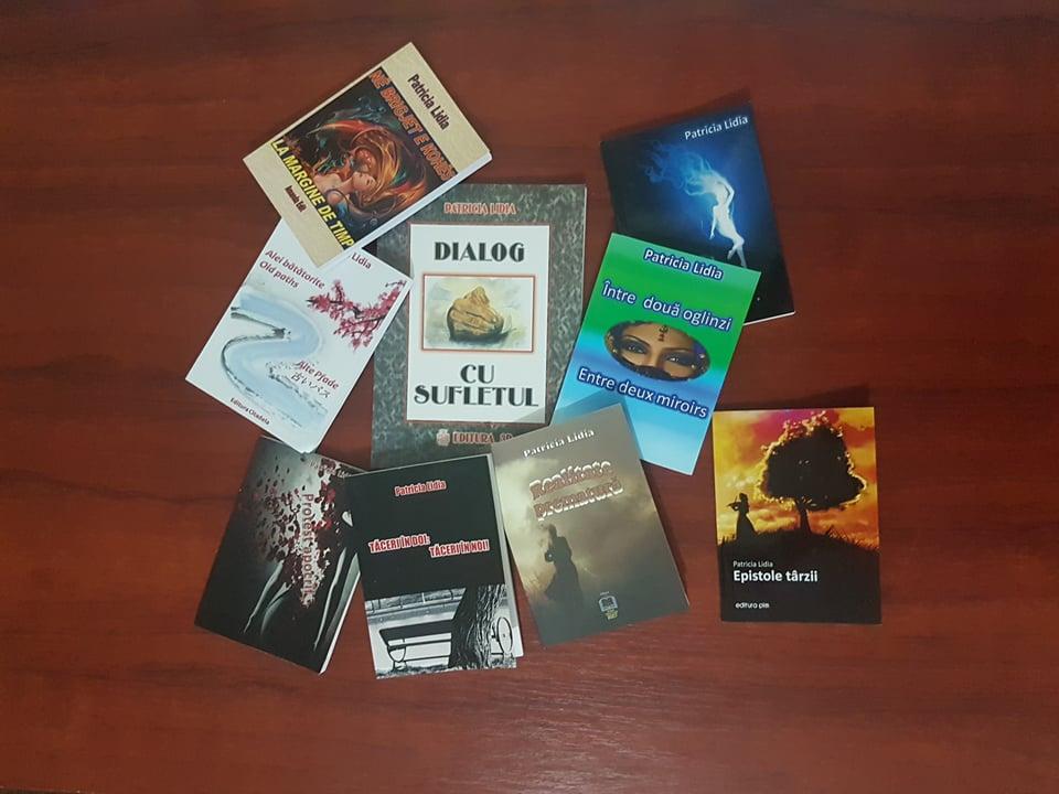 Sufletu-mi în primele mele 10 volume publicate (pentru oameni mari)