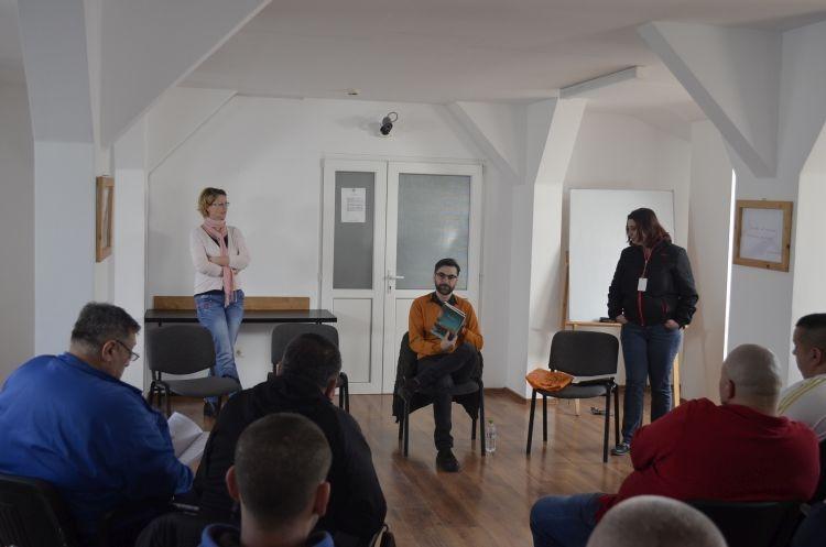 Marius Chivu la Penitenciarul Timisoara