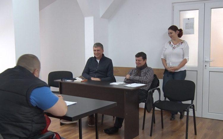 Bogdan Munteanu și Alexandru Potcoavă la Penitenciarul Timisoara