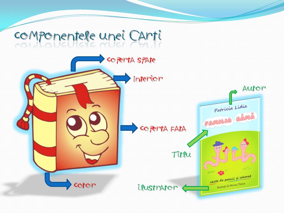 Componentele unei carti