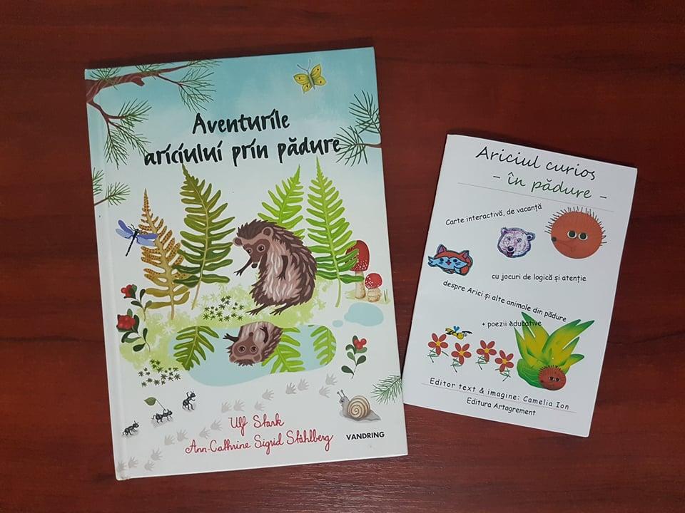 Joacă de toamnă – povești cu arici și arici din castane