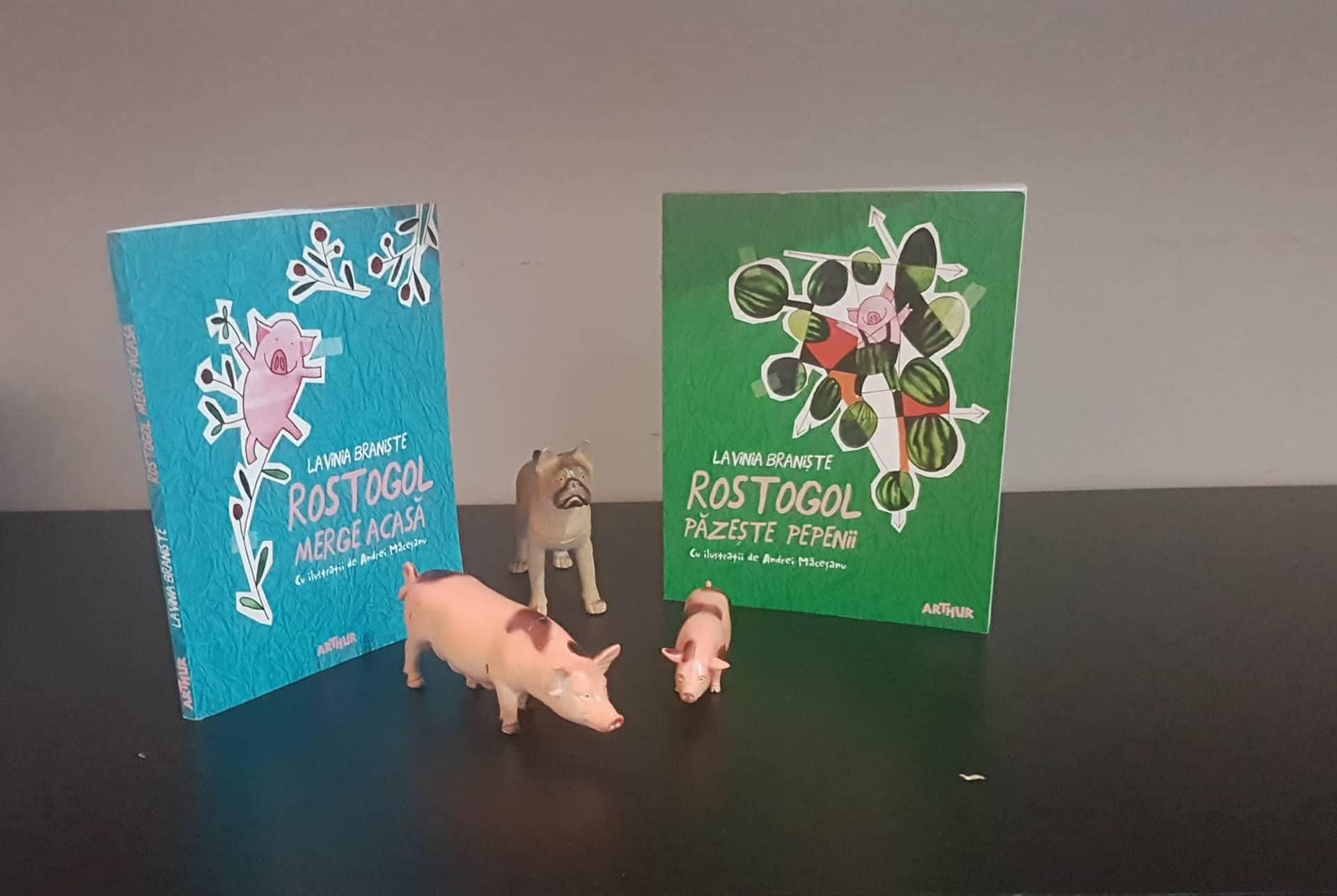 De-a ROSTOGOL-ul prin cărțile pentru copii ale Laviniei Braniște