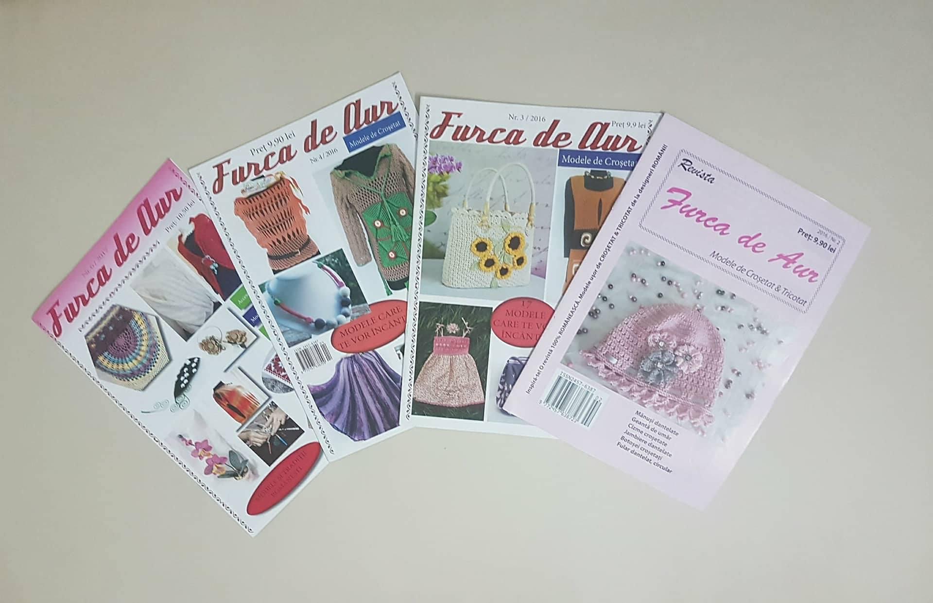 Furca de aur – o revistă românească despre lucrul de mână românesc