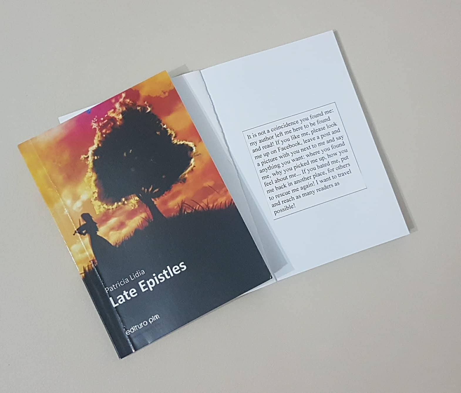 M-am decis: voi pierde cărți pentru ca alții să le găsească și să le citească…