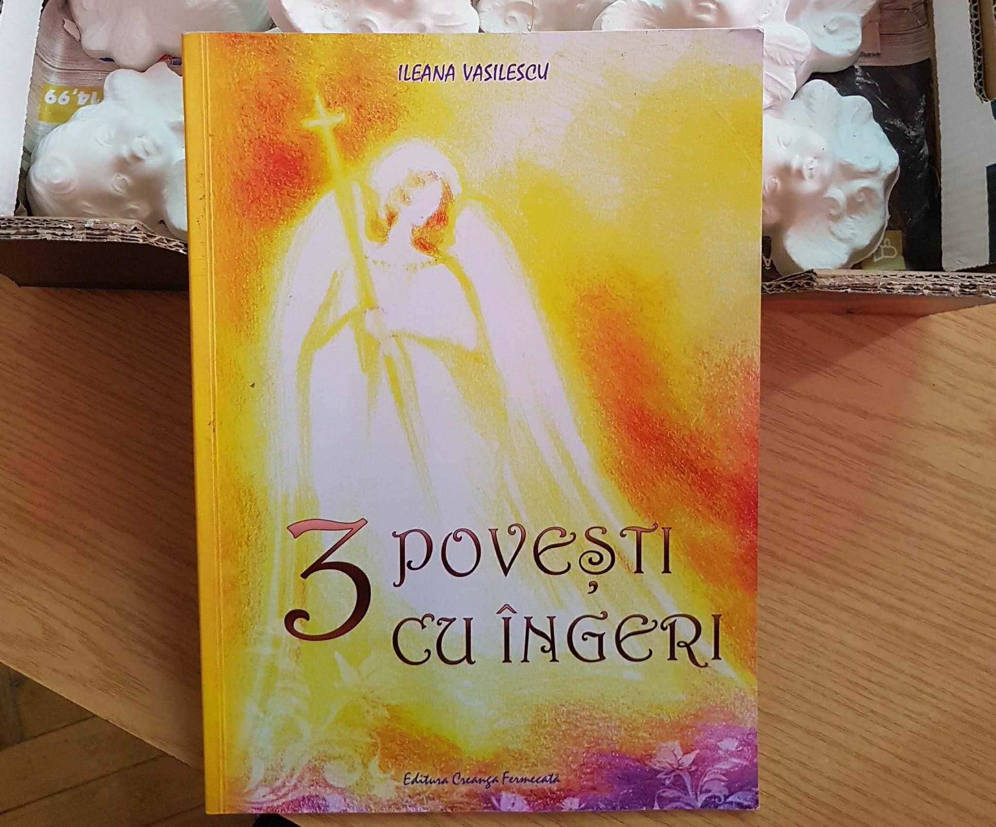 Ne-am pregătit de Crăciun la clubul de lectură: 3 povești cu îngeri, de Ileana Vasilescu