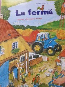 carte cu ilustratii La ferma