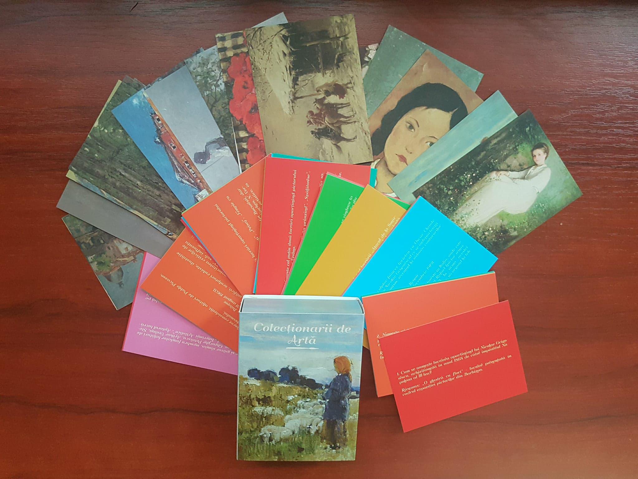 """""""Colecționarii de Artă"""" sau cum poți stimula prin joc interesul față de patrimoniul cultural național"""