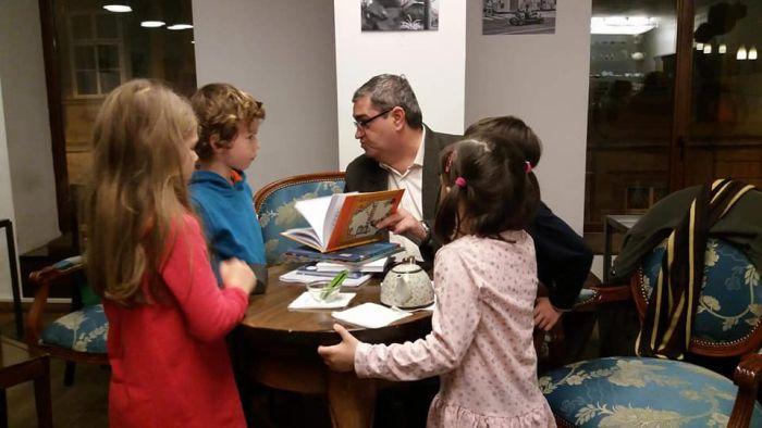 Scriitorul Petre Craciun la Libraria Carturesti MercyTimisoara