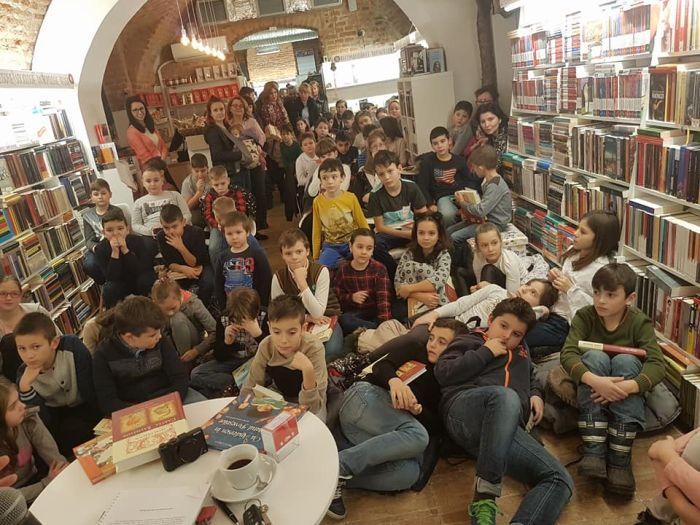 Scriitorul Petre Craciun la Libraria La Doua Bufnite Timisoara