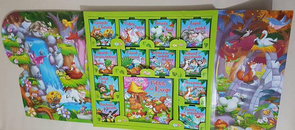 Pădurea fermecată – carte cu cărți cu fabule adorată de copiii de toate vârstele