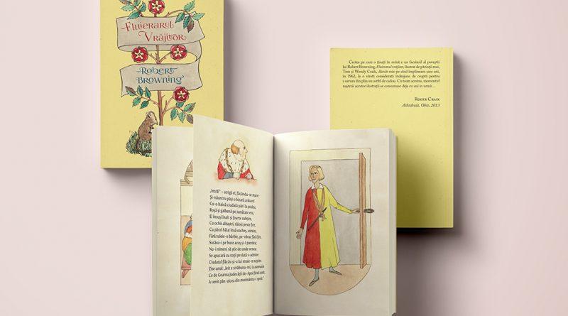 Fluierarul Vrajitor de Robert Browning, in traducere de Rareș Moldovan (Brumar Publishing House)