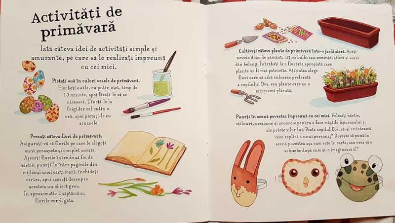 Primăvara. Aventura iepurașului de Anita Loughrey și Daniel Howarth (Editura Univers Enciclopedic Junior)