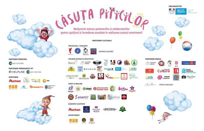 Casuta piticilor 2018 la Institutul Cultural Francez
