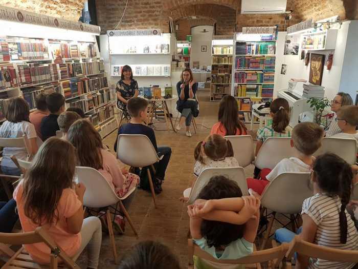 Istoria povestita copiilor, de Simona Antonescu, lansarea de la Timisoara
