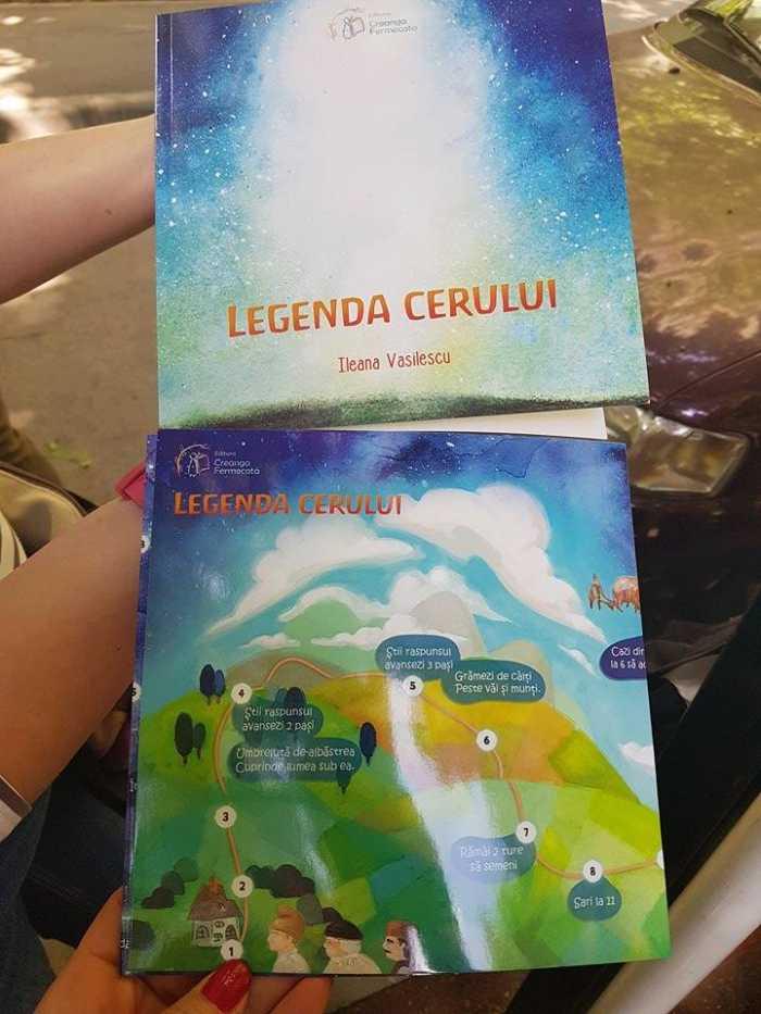 Legenda cerului, carte de Ileana Vasilescu (editura Creanga Fermecata)