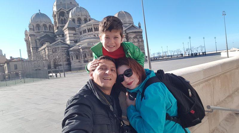Familia Popescu in Marsilia