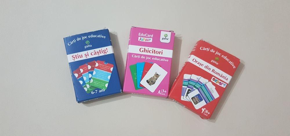 Colecția EduCard de la Editura Gama – jocuri cu carduri educative pentru toți copiii!