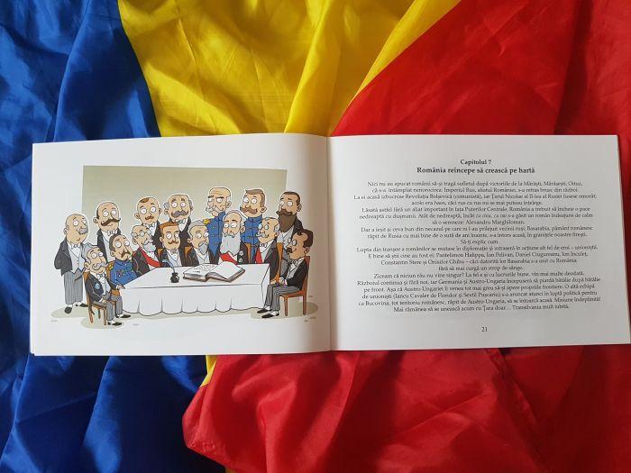 Marea Unire pentru cei mici, de Ana Iorga si Filip Iorga