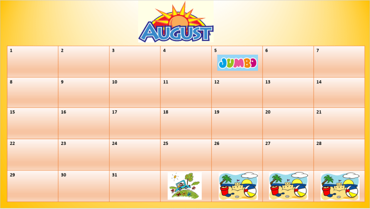 Calendarul activităților sau cum ajutăm copilul să anticipeze evenimente