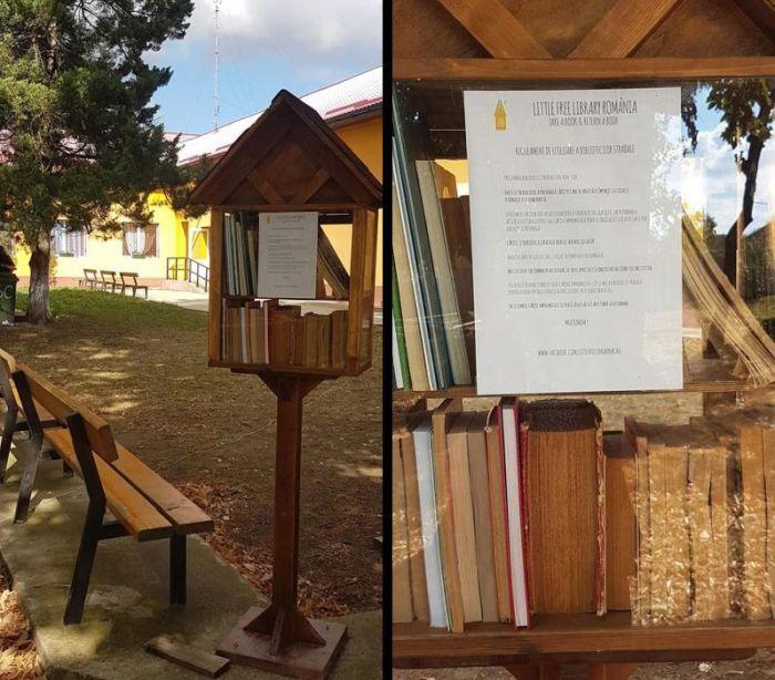 Biblioteca stradală Bucovăț: dar din dar se face Rai!