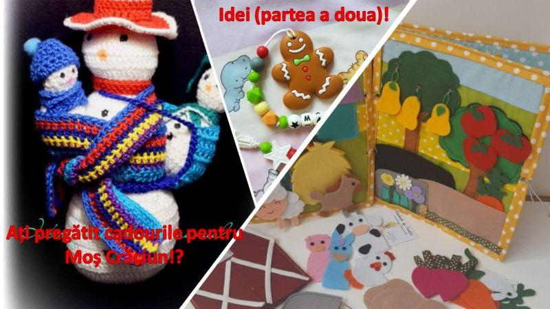 Ați pregătit cadourile pentru Moș Crăciun!?! Idei (partea a doua)!