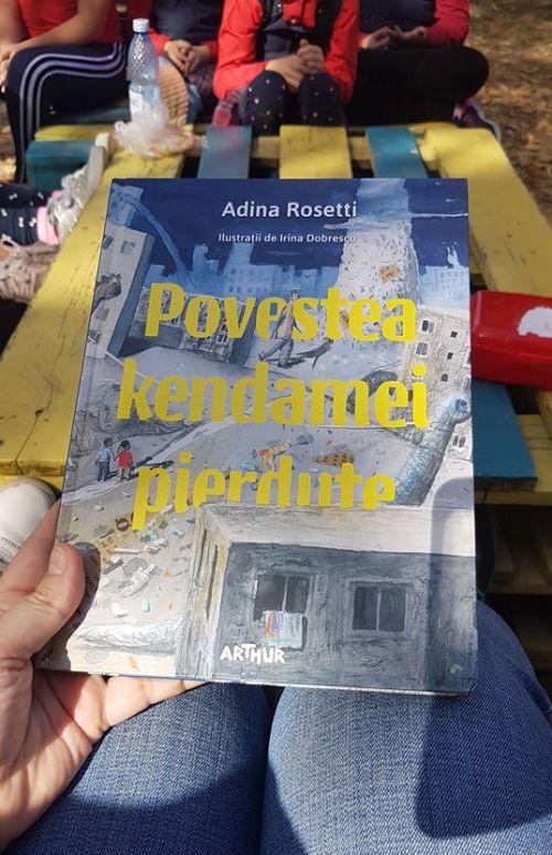 Povestea kendamei pierdute de Adina Rosetti și cu ilustrații de Irina Dobrescu (Editura Arthur, 2018)