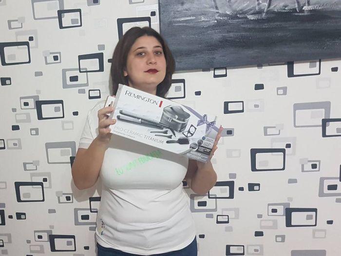 Patricia Lidia & Remington PRO-Ceramic Titanium