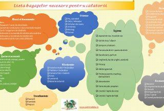 lista bagajelor necesare pentru calatorii - Patricia Lidia