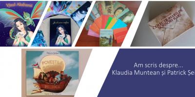Am scris despre… Klaudia Muntean și Patrick Șeitan