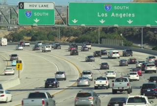 trafic aglomerat California