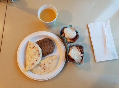 micul dejun in SUA