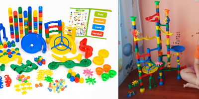 Labirintul cu bile Magic Journey: ore în șir de distracție! / Marble run Magic Journey: hours of endless fun!