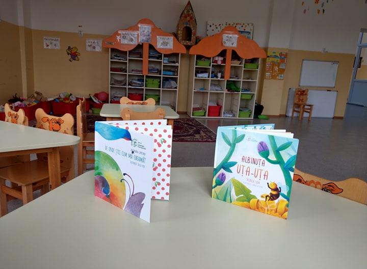Albinuța Uța-Uța a ajuns la școlile izolate din mediul rural!