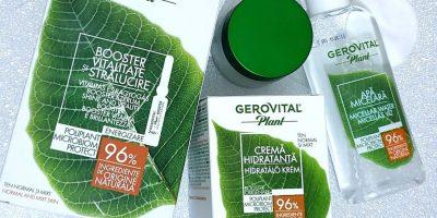 Cum să îți creezi o rutină de îngrijire potrivită pentru tenul tău normal sau mixt cu produse Gerovital Plant Poliplant Microbiom Protect