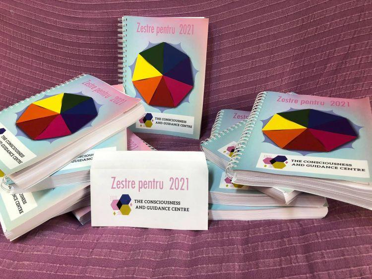 agenda planner Zestre pentru 2021